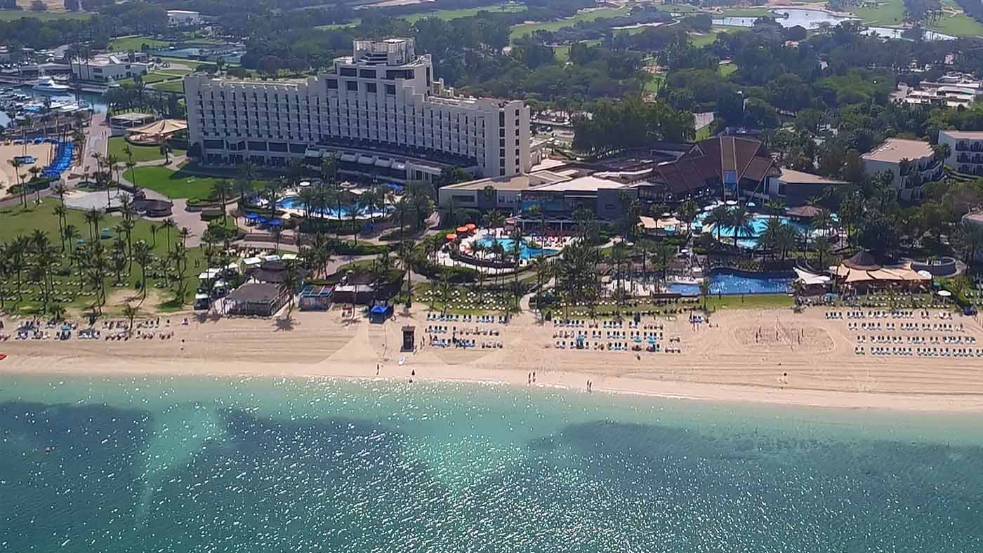 JA The Resort Dubai Aerial View